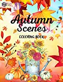 Autumn Scenes Coloring Book: A Coloring Book for Adults and Kids with relaxing and amazing Autumn Illustrations, including autumn scenes, mandalas and more, perfect gift (English Edition)