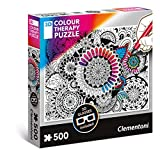 Puzzle 3D Colour Therapy Kwiaty
