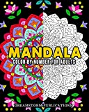 Mandala Color by Number for Adults (English Edition)